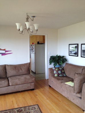 LD Arch Design: Cheery WS living room before: Photo by Parie Hines