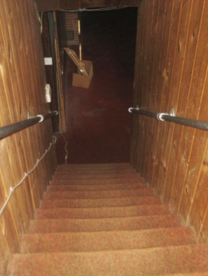LD Arch Design: Cheery WS stairs before: Photo by Parie Hines