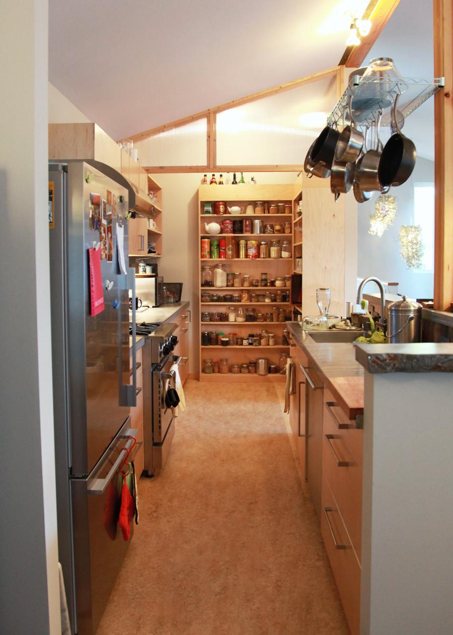 LD Arch Design Blue View Kitchen