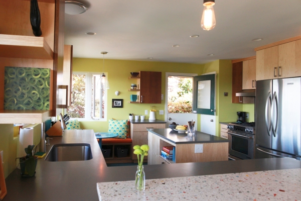 LD Arch Design: Cheery WS kitchen view 1: Photo by Holli with an i Photography