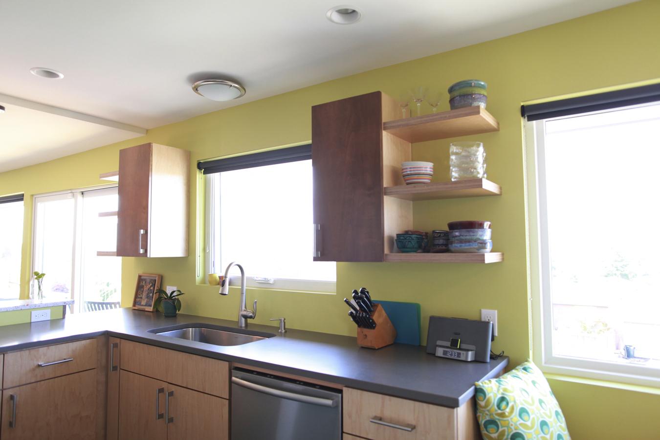Cheery WS kitchen sink counter | LD Arch Design