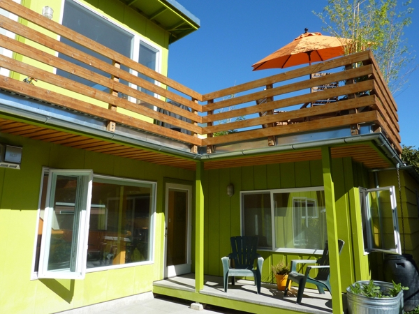 LD Arch Design: Citrus Manor back view | Photo by Parie Hines